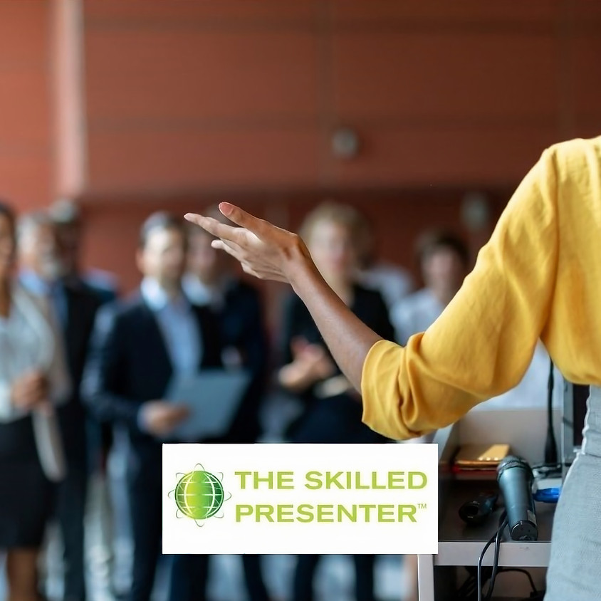 The Skilled Presenter™ Full Workshop - August 11-12 - 7am-2pm MT both days