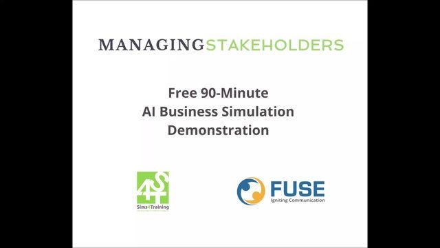 Added Feb. 2 FREE AI Business Simulation Demonstration!!!