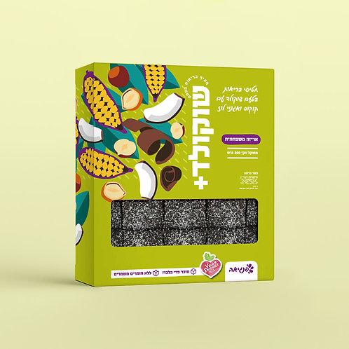 חטיפי בריאות שוקולד קוקוס ואגוזי לוז