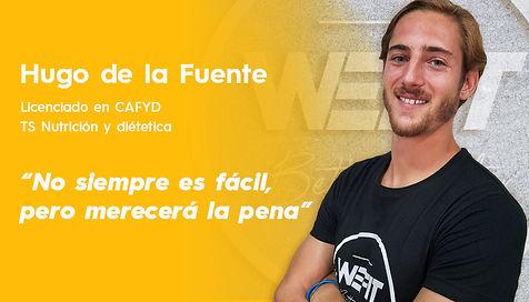 Entrenador online, nutricionista online, WEFIT, Hugo de la Fuente.