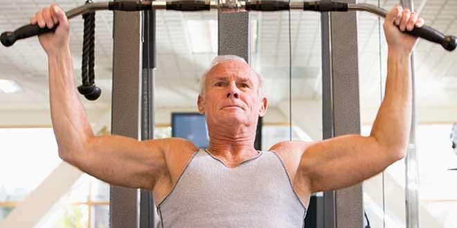 Entrenamiento fuerza en mayores