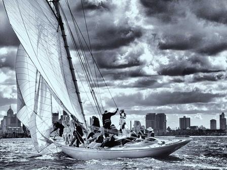 Sayonara Hoisting Sail