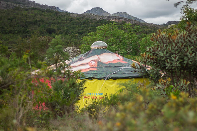 acampamento ayruma ecovila comunidade pe