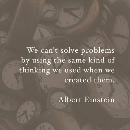 How do you solve your problems?
