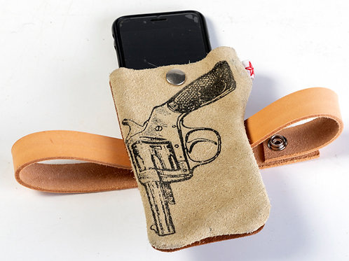 Gun phone cover
