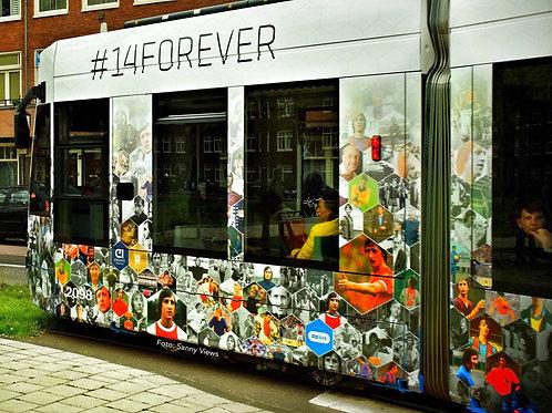 #14 Johan Cruijff Memorial Tram Amsterdam