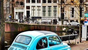 Sanny Views Amsterdam, photo exhibition in the Amstel Hotel, from February 1st, 2018 until the end o