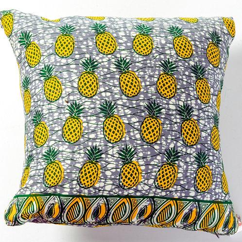 African pineapple print pillow
