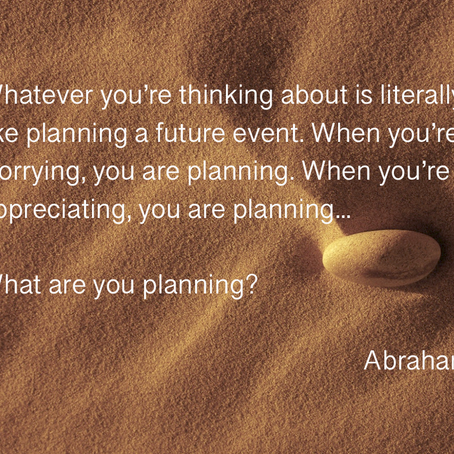What are you planning?