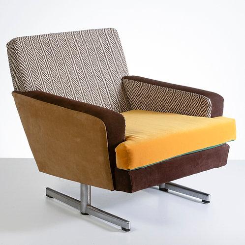 Winter sunny armchair