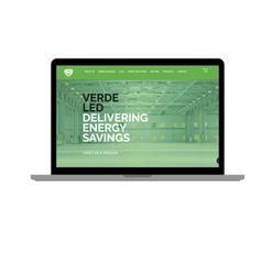 Verdeled Ireland - LED company webdesign