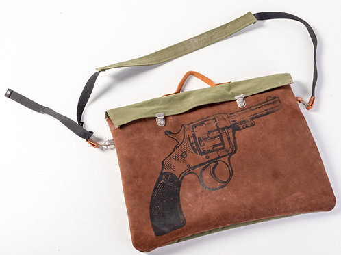 Revolver laptop bag