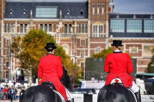 Amazones in Amsterdam