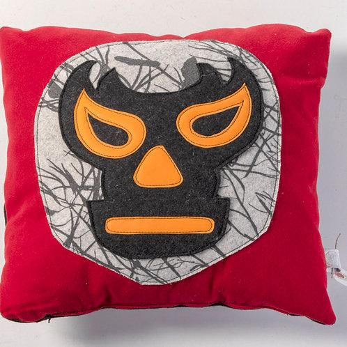 Mexican wrestler mask pillow
