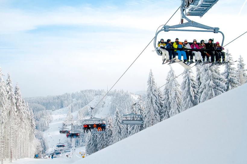 Winterberg skilift