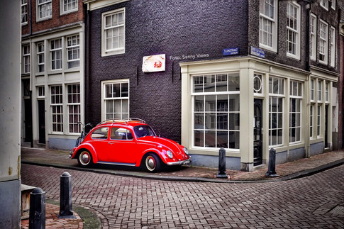 Red Beetle in the Jordaan Amsterdam