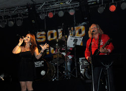 Claudia live mit Solid Gold