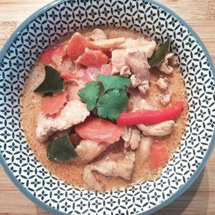 Poulet au curry 8€