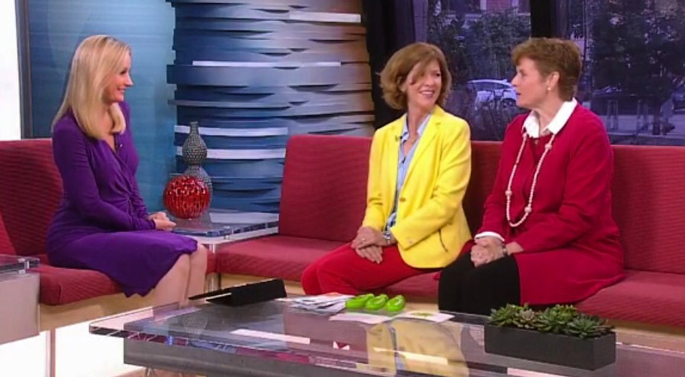 Carolyn Will and Mary McGuire Lynch on WCCO