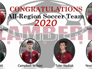 2020 Boys All-Region Team