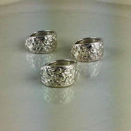 Narcissus Spoon Ring