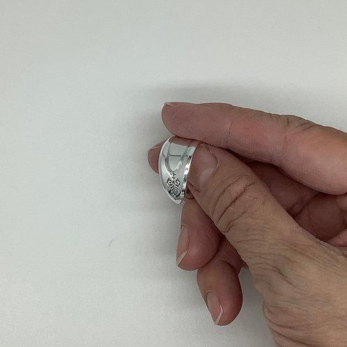 Spoon Ring Adam Pattern