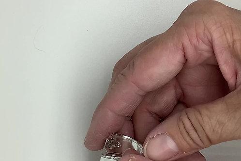 Bordeaux Wrap Spoon Ring