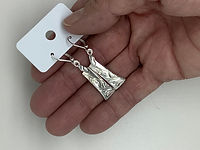 Silverware Earrings