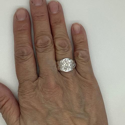 Plantation Silverware Ring