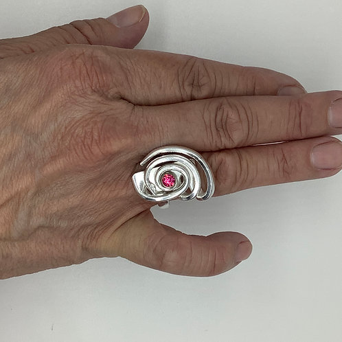 Spiral Fork Ring Style 201