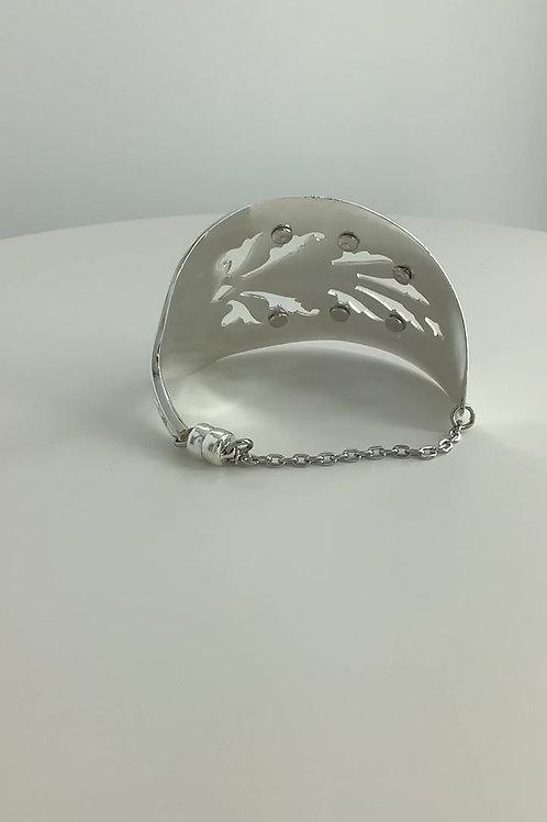 Pie Server Silverware Bracelet