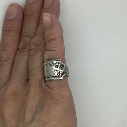 Spoon Ring Decorated Tip