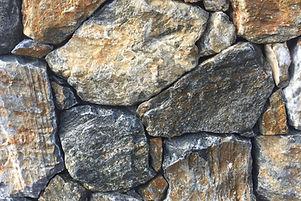 Dry Stone cladding close up of Stone Elements