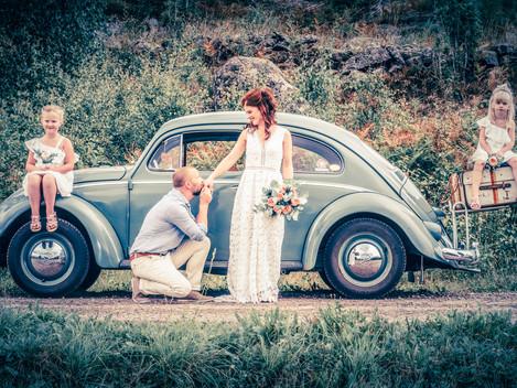 Johan & Matildas bröllop