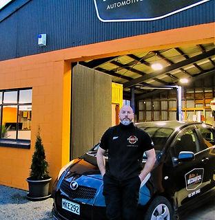 Workshop Manager Alastair at Mister Mechanical