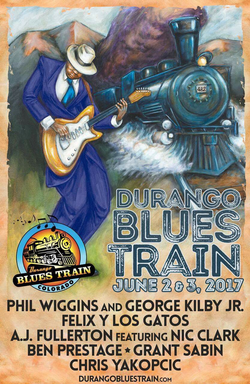 Felix y los Gatos has been asked to join the 2017 Durango Blues Train! We're so please and super grateful to be representing the New Mexico for this incredible journey!