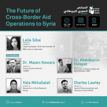 The Future of Cross-Border Aid Operations to Syria