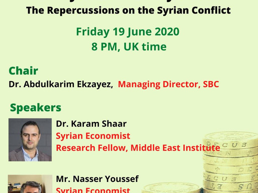 The Syrian Economy Crisis: The Repercussions on the Conflict