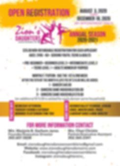 Zion's Daughters Dance Ensemble, Inc. Op