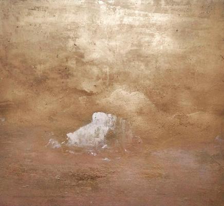 """""""Melts my heart"""" 122 x 102  Acrílico y esmalte sobre tela. 2020"""