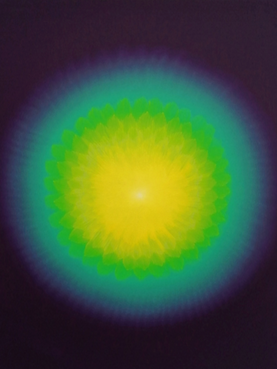 The Radiant Return  Oli s/ tela 66x81cm