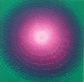 The Unfolding Dawn 50 x50 cm.Oil on cava