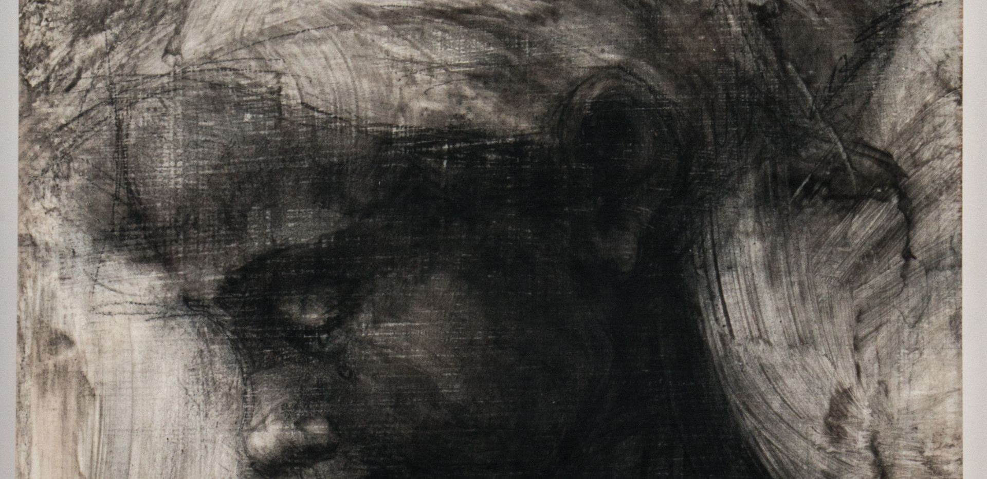 CADA UN , X.  29x21 cm  Carboncillo sobre gesso