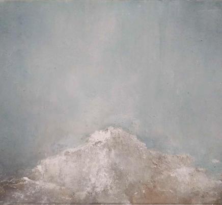 """""""Stage changes""""  162 x 90 cm Acrílico y esmalte sobre tela. 2020"""