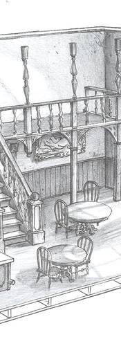 Int. Western Set - Saloon