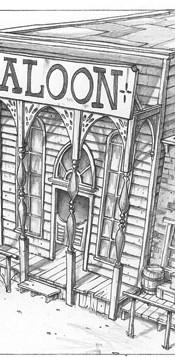 Ext. Western Set - Saloon