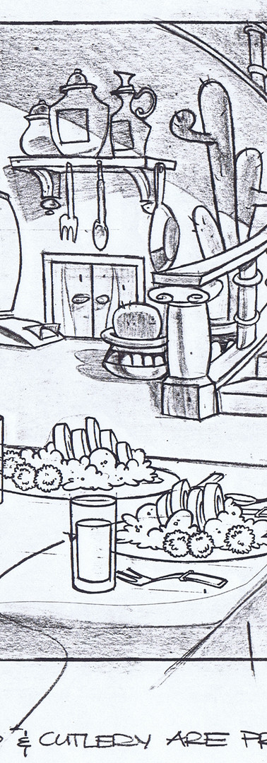 Izzy's House - Kitchen