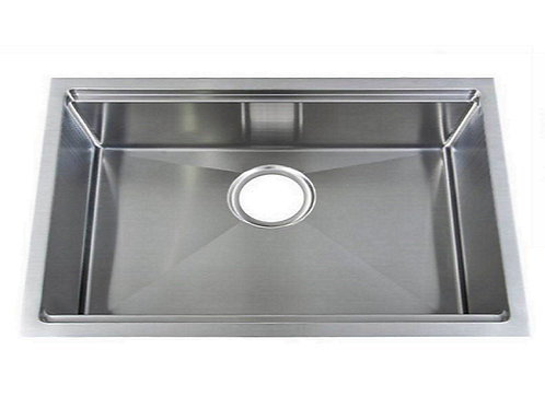 Top Quality 18Gauge Type 304 Stainless steel Single undermount sink - 28""