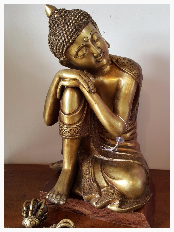 Bronze Sand Cast Buddha