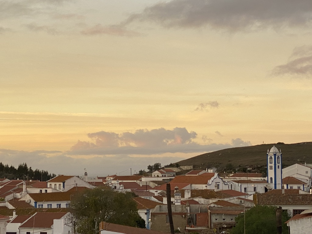 Sunset in Messejana